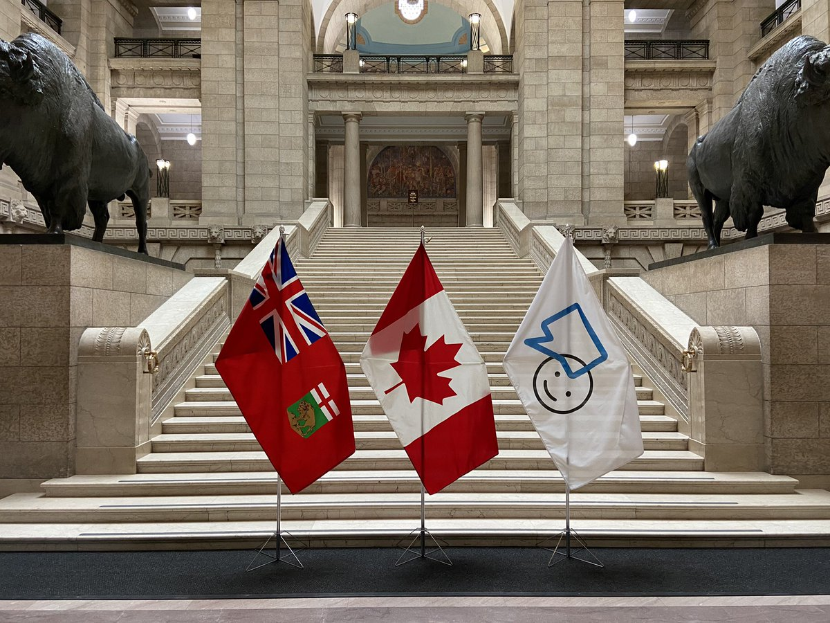 test Twitter Media - RT @fairdinkumbrad: Very proud to display the #BellLetsTalk flag at the @MBLegislature today. https://t.co/oRBtmuvN0P