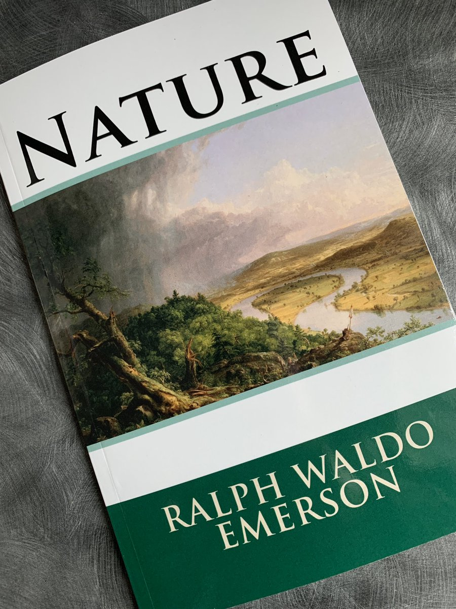 Lunchtime #reading. #Nature #Emerson #Environment