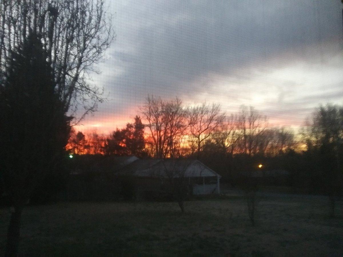 """This morning""""s sunrise #sunrise #NaturePhotography"""