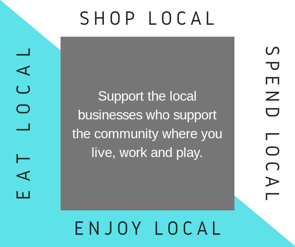 Shop local. Support our community. #harrisonville #kcmo #shoplocal #kgp