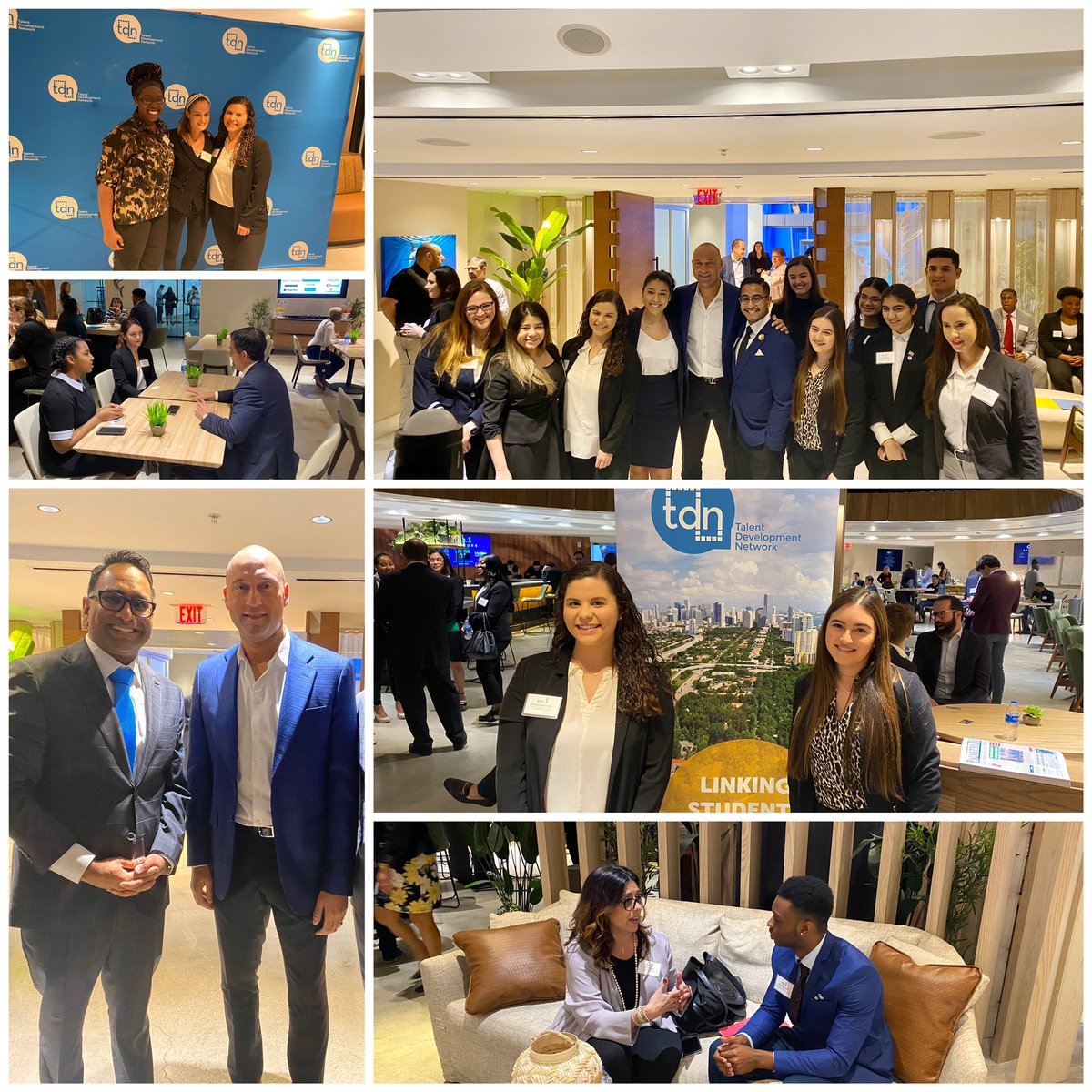 Grateful to all of the #ceos and #students who participated in our first ever @TDNMiami #CeosForADay event. Our #Miami has such limitless #talent and it is on all of us to maximize #opportunity via paid #internships #OCOG Thank you @HeliosEdFnd @ATT @Marlins #MiamiBoss