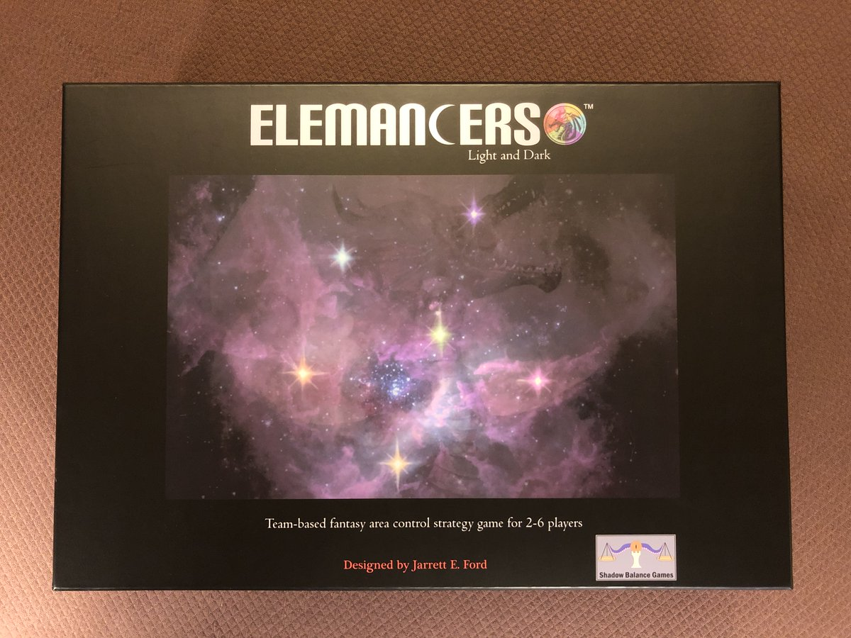 ELEMANCERS: Light and Dark is coming to Kickstarter 2/11/2020! 2-6 player team-based fantasy area control game. Sign up@ http://shadowbalancegames.com! #elemancers #kickstarter #tabletopgames  #areacontrol #fantasy #areacontrolgames #boardgames #boardgame  #tabletopgaming #tabletoppic.twitter.com/J13fDgmUQ9