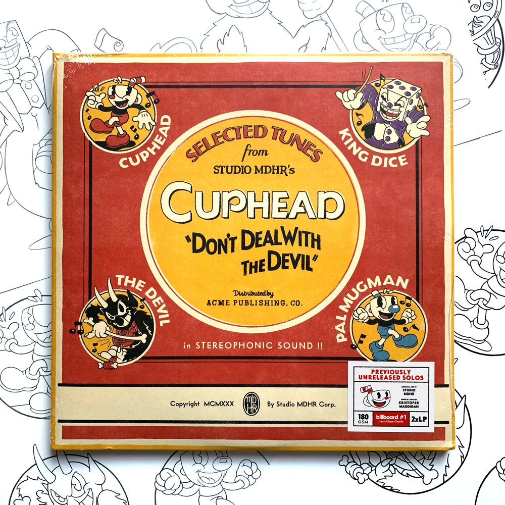 Oh My!! The Cuphead 2xLP Vinyl has been nominated for Album Artwork of the Year at @TheJUNOAwards.  It was such fun crafting this jumble of jazz with our pals at @iam8bit, and we're humbled to be recognized by a Canadian institution like the Junos. Congrats to all nominees! https://t.co/6Redu7gcMU