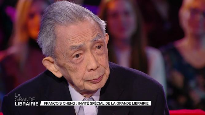 """La Grande Librairie on Twitter: """"""""La beauté c'est un signe par lequel la  création nous signifie que la vie a du sens."""" François Cheng #LGLf5  @France5tv… https://t.co/XCY12PV84q"""""""