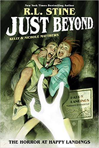 Heres the second book in my new graphic novel series. Can you wait till May 11 for it?