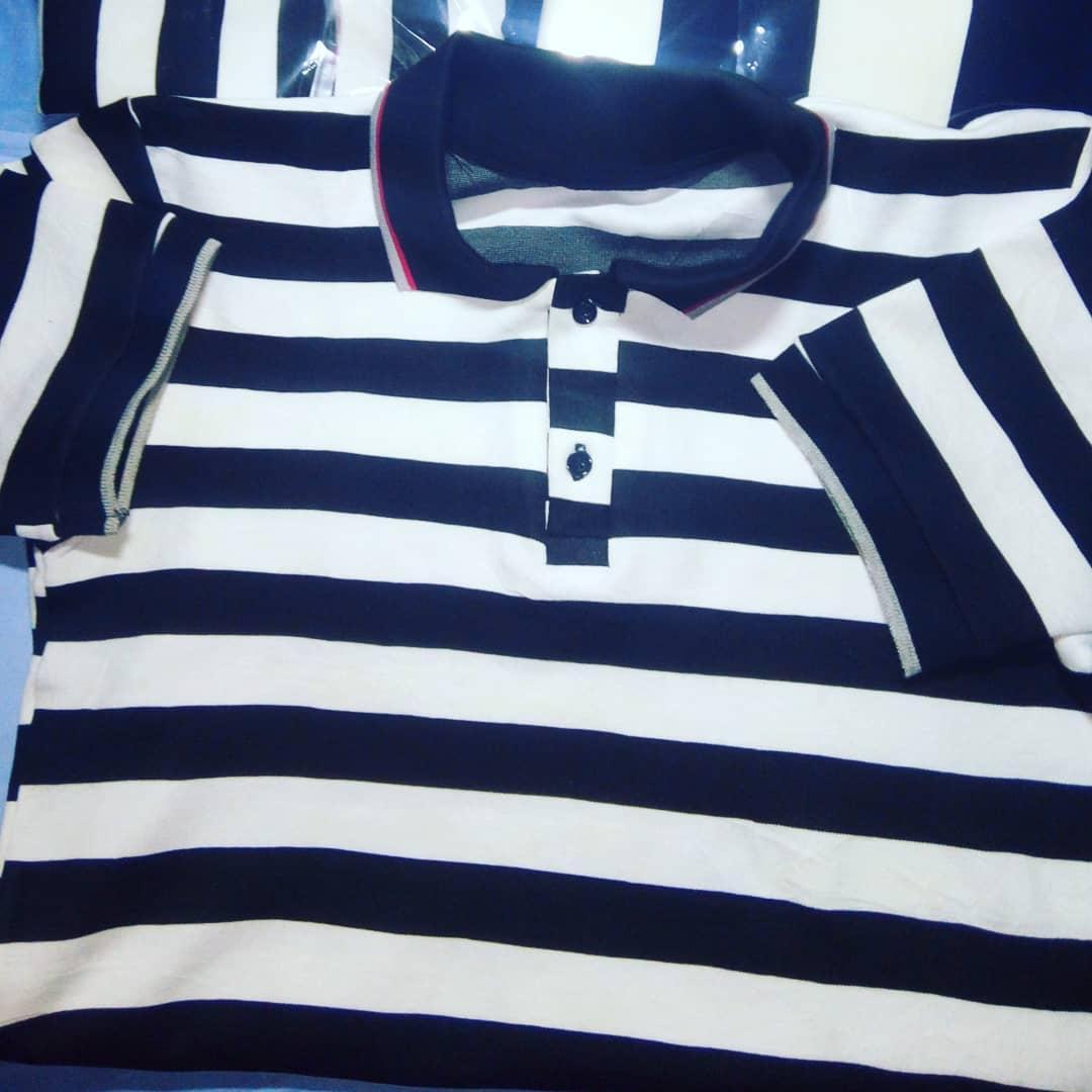 Enjoy our #premium_quality Polo Shirts for as low as #3,500 #stripedshirt #plaincotton  +2348132953171pic.twitter.com/hsUPYCKDxP