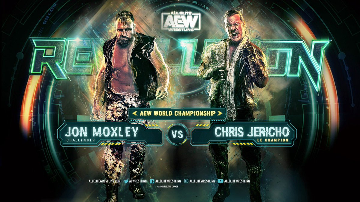 AEW Releases First PPV Poster For Moxley-Jericho World Title Main Event (Photo)