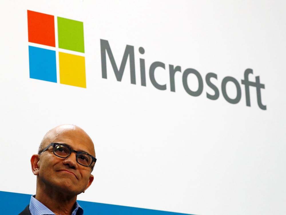 Microsoft beats second-quarter revenue estimates