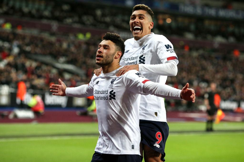 West Ham 0-2 Liverpool, 30/01/2020