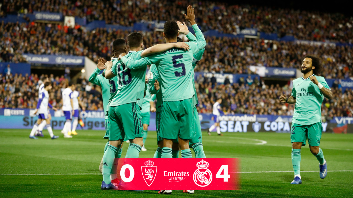 Real Zaragoza 0-4 Real Madrid, 30/01/2020