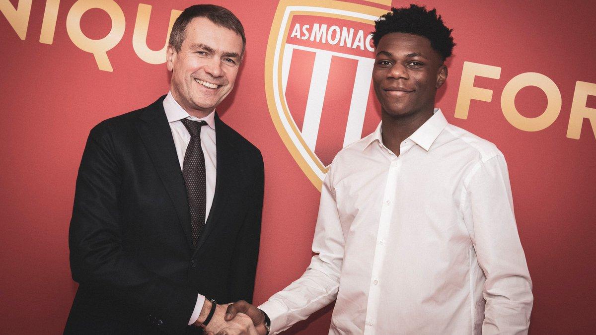 Tchouaméni (Bordeaux) a signé ! (officiel) — Monaco