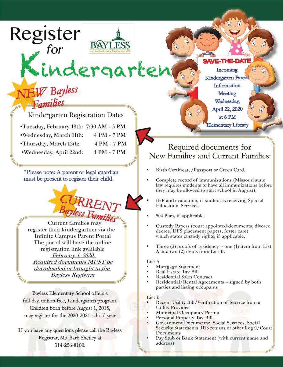 Kindergarten Registration conta.cc/3aS8bYX