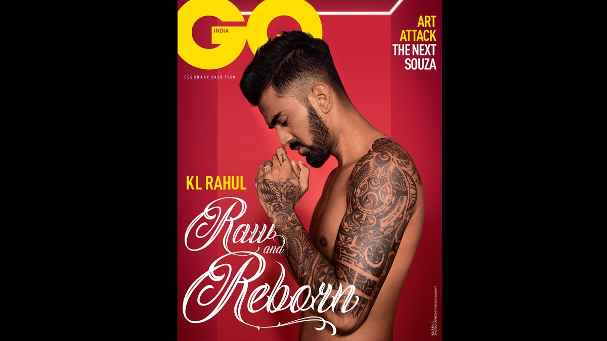 🚨COVER ALERT: King Lion Rahul #February2020 ___________________________________________________ @klrahul11 is photographed for the February 2020 issue by Manasi Sawant #GQIndia #GQExclusive #GQCover #KLRahul #CoverStar #Cricket #IndianCricketTeam