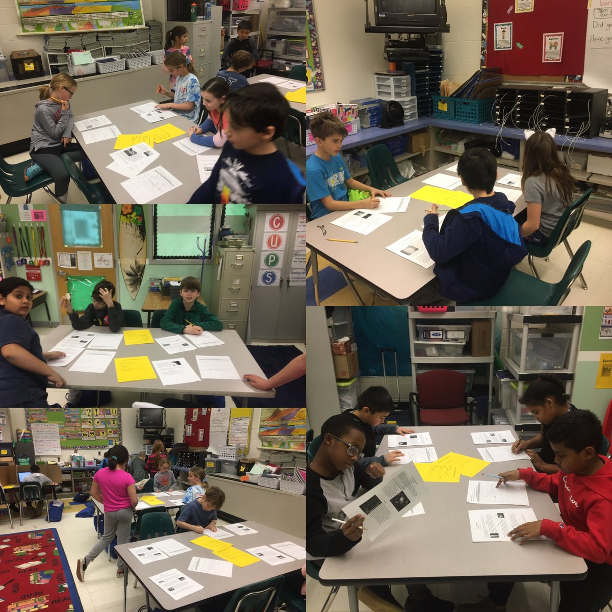 Fourth grade writers doing a Gallery Walk Celebration for research based pieces: correlating writing and science ⁦<a target='_blank' href='http://twitter.com/GlebeAPS'>@GlebeAPS</a>⁩ ⁦<a target='_blank' href='http://twitter.com/GlebeITC'>@GlebeITC</a>⁩ ⁦<a target='_blank' href='http://twitter.com/4thGlebe'>@4thGlebe</a>⁩ <a target='_blank' href='https://t.co/CxgnzdxwGs'>https://t.co/CxgnzdxwGs</a>