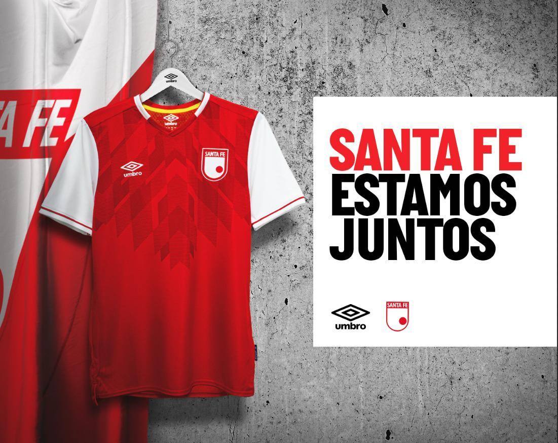 Presentamos la nueva camiseta de Independiente Santa Fe en su versión de local para la temporada 2020. . . . #Umbro #IndependienteSantaFe #UmbroColombia #camisetas #camisetasdefutbol #futbol #futbolcolombiano https://t.co/OMaGNNYjiT