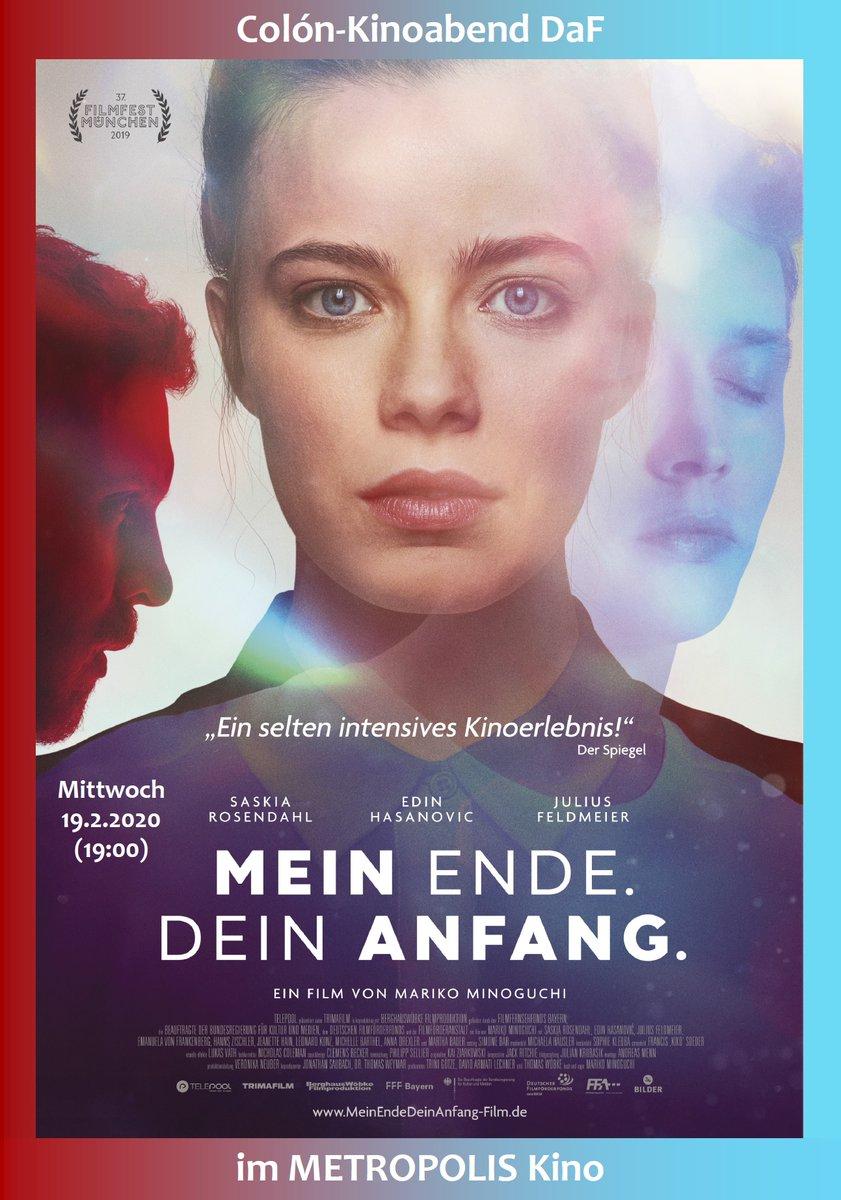 MEIN ENDE. DEIN ANFANG. Ganz tolles Kino aus Deutschland am 19.2.2020 (19:00) bei #DaF im Metropolis Kino Hamburg. https://filmteamcolon.blogspot.com/2020/01/mein-ende-dein-anfang-im-februar-2020.html…  #Kino #Hamburg #DeutschesKino #DeutscherFilm #MeinEndeDeinAnfang #Filmscreeningpic.twitter.com/HsouAFlpFP