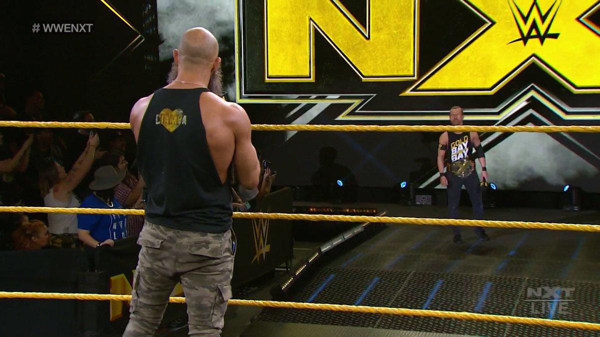 """Tommaso Ciampa Vs. Adam Cole Announced For WWE NXT """"Takeover: Portland"""""""