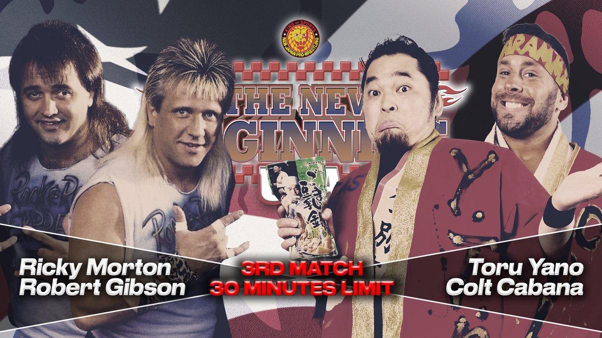NJPW New Beginning USA Results (Miami): Colt Cabana & Toru Yano Vs. The Rock 'N' Roll Express