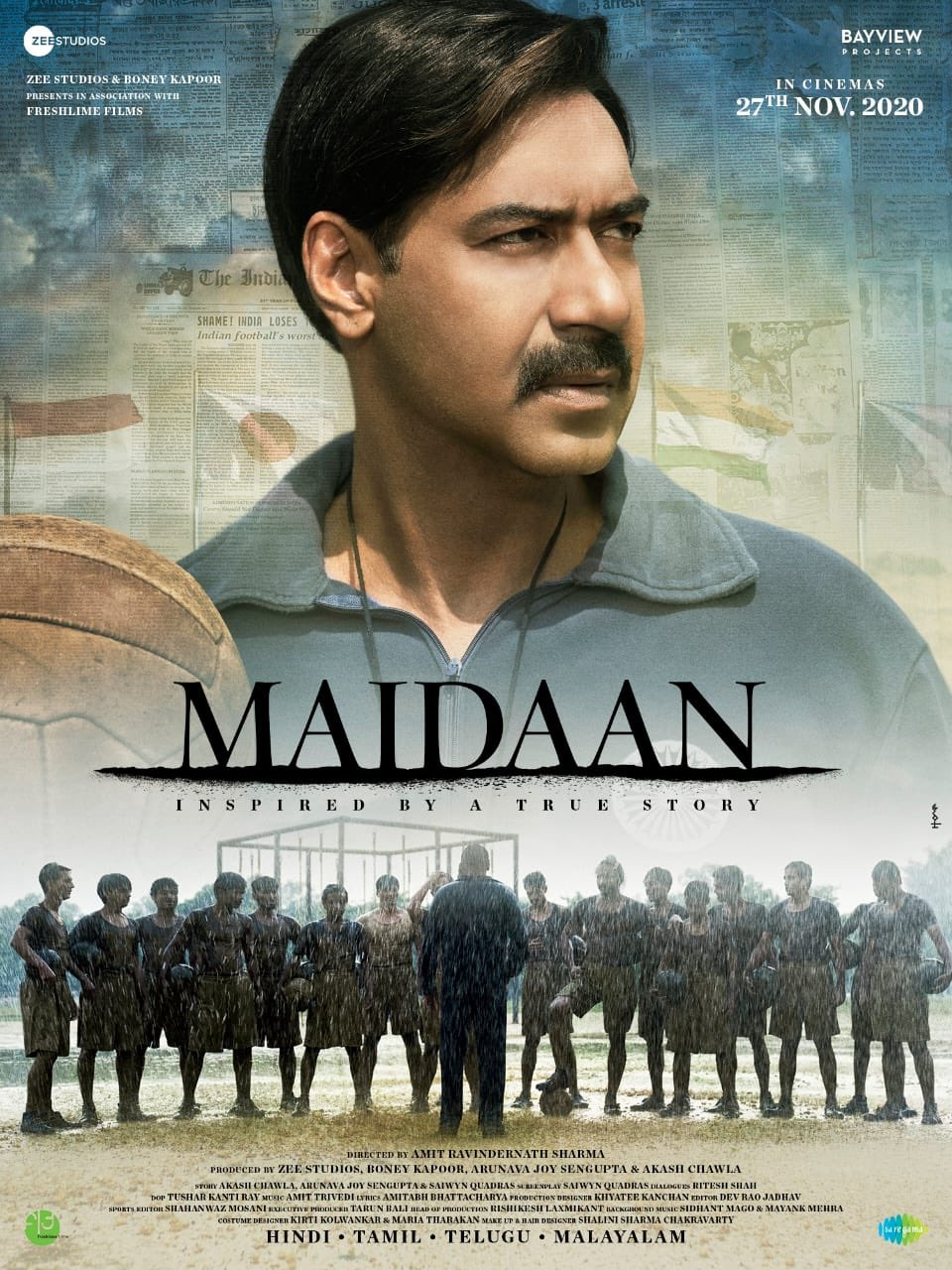 maidaan first look