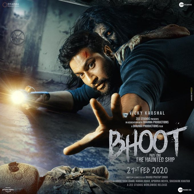 Vicky Kaushal - I was scared after reading the script full of ghosts