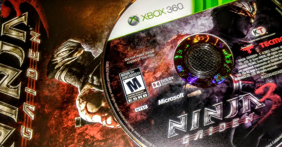 Franbiz On Twitter Tbt With Some Ninja Gaiden 3 For The Xbox