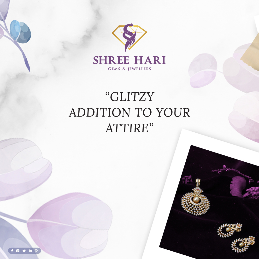 Glitzy Addition to your Attire. . . . #ShreeHari #ShreeHariJewellers #Jewellers #Collection #Gold #Silver #JewelryArt #GoldJewellery #Jewellery #Fashion #Gold #Bracelet #Jewels #Style #Accessories #Love #Ring #Wedding #FashionJewelry #Necklace #Earrings #Trendsetter #OnTrend