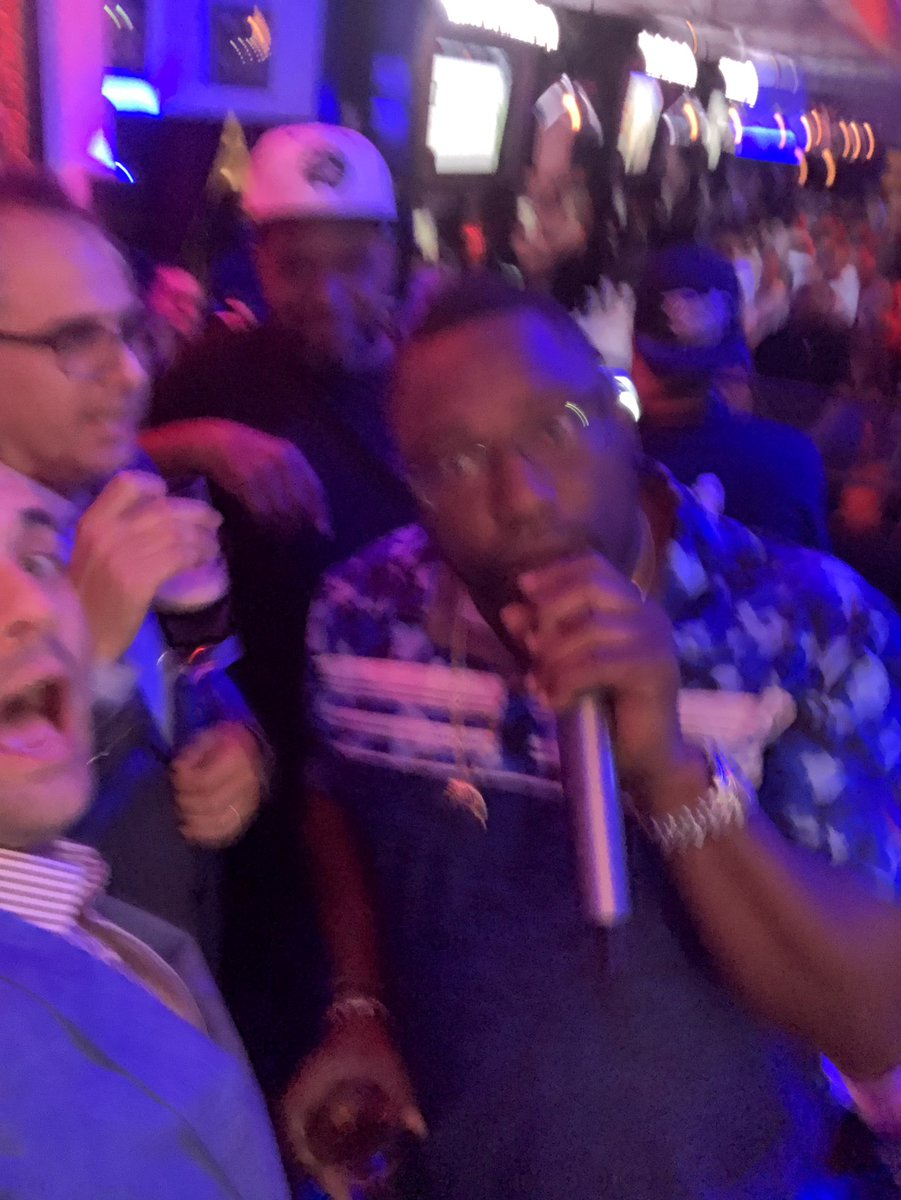 Blurry... but we've got a night on our hands... @WarrenSapp, @unclelukereal1 , @MikeSilver