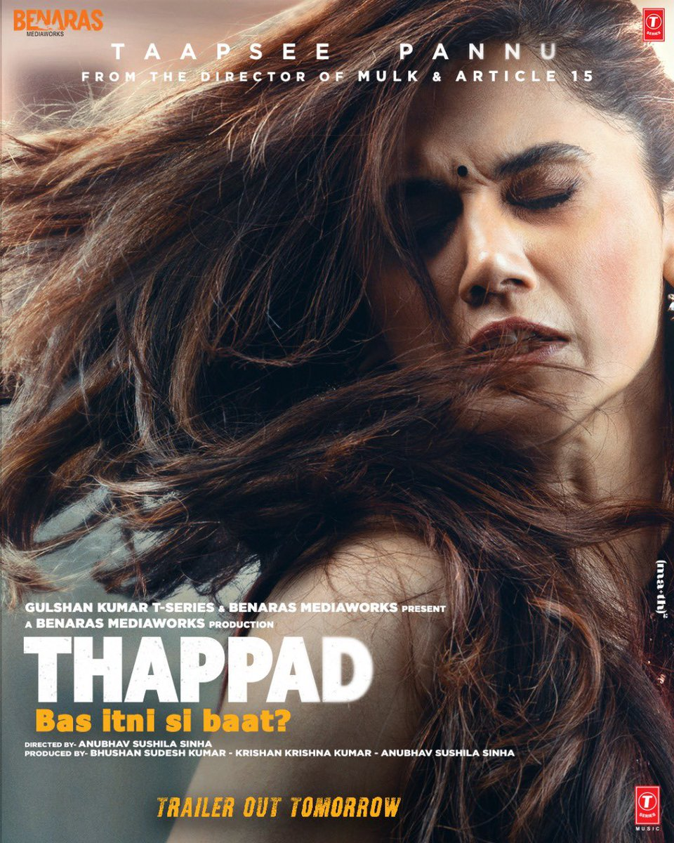 Thappad First Look