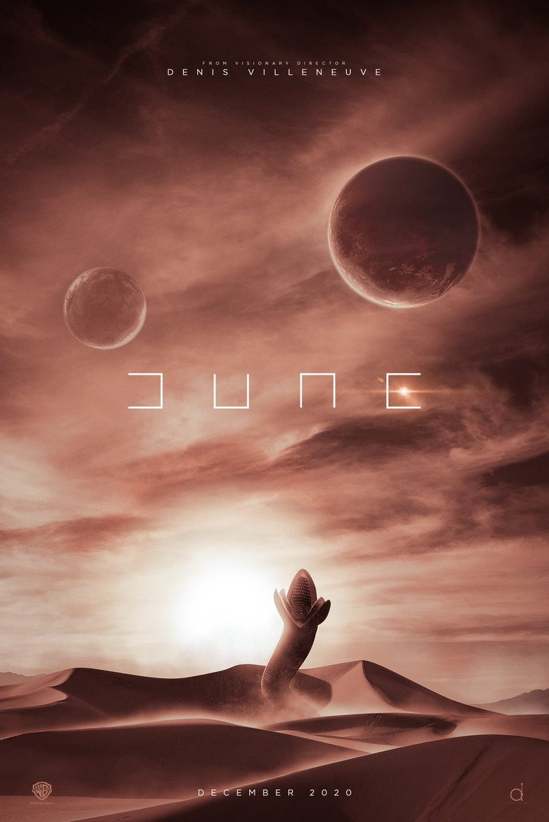 Nuno Sarnadas On Twitter While I Was Making The Dune Poster On The Left I Abandoned The Concept On The Right But I Felt I Needed To Come Back To It And