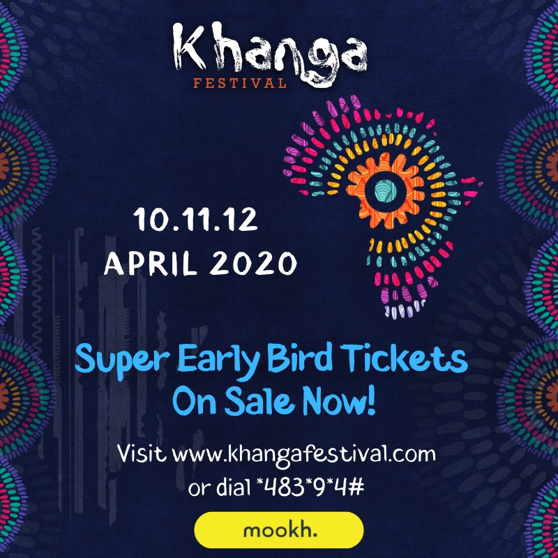 KHANGA FESTIVAL SUPER EARLY BIRD TICKETS ARE LIVE ON MOOKH!  From April 10th to 12th, experience rib-cracking comedy & all your favorite music under the Kilifi sun🌞!  Get your 3-day season pass at KSH 2700 from https://t.co/YPXZp9faYG  or dial *483*9*4#  #BringBackTheKhanga https://t.co/5GLxHVpfva