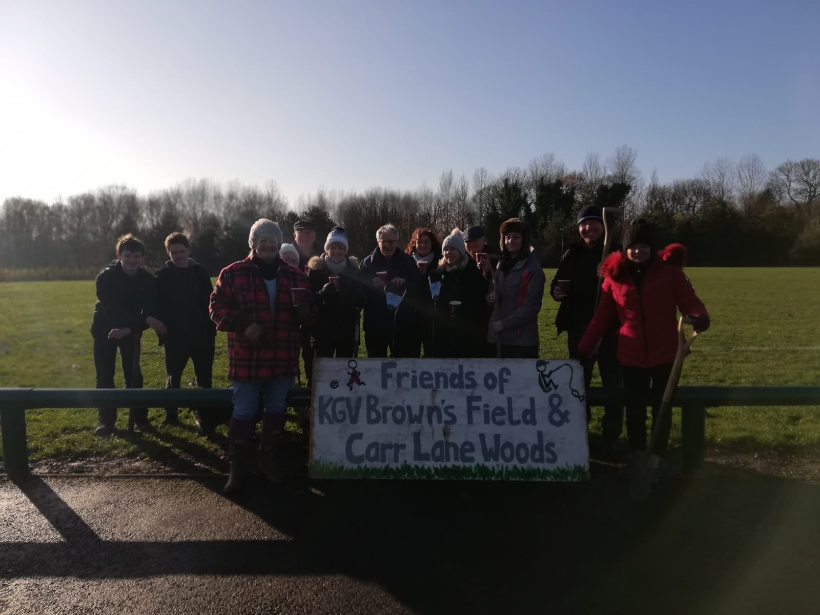 Friends of KGV Browns Field & Carr Lane Woods Annual General Meeting