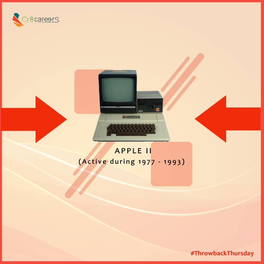The Apple II (stylized as apple ][) is an 8-bit home computer and one of the world's first highly successful mass-produced microcomputer products, designed primarily by Apple #ThrowbackThursday . #Recruitment #Outsourcing #Assessments #OccupationalInterests #HRNigeriapic.twitter.com/LxQtqIbZaM