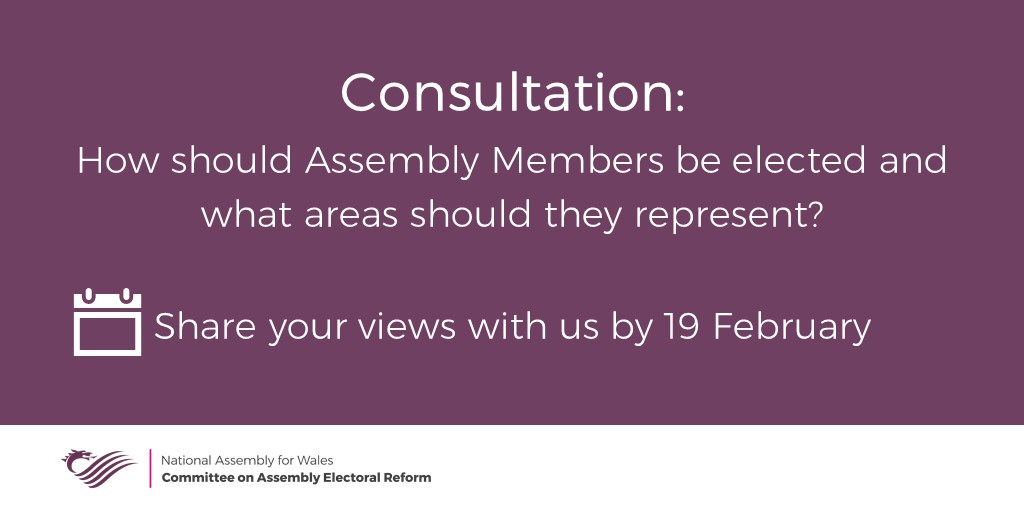 📢 REMINDER: Share your views with us by 19 February senedd.assembly.wales/mgIssueHistory…