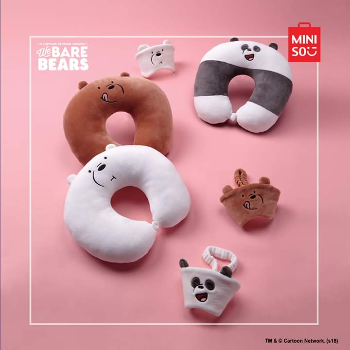 Miniso Philippines On Twitter Looking For A Cute And Comfortable Travel Companion On Your Next Travel Check Out Our We Bare Bear U Shaped Neck Pillow Lovelifeloveminiso Minisoph Price P299 Https T Co Zszewfj2j3