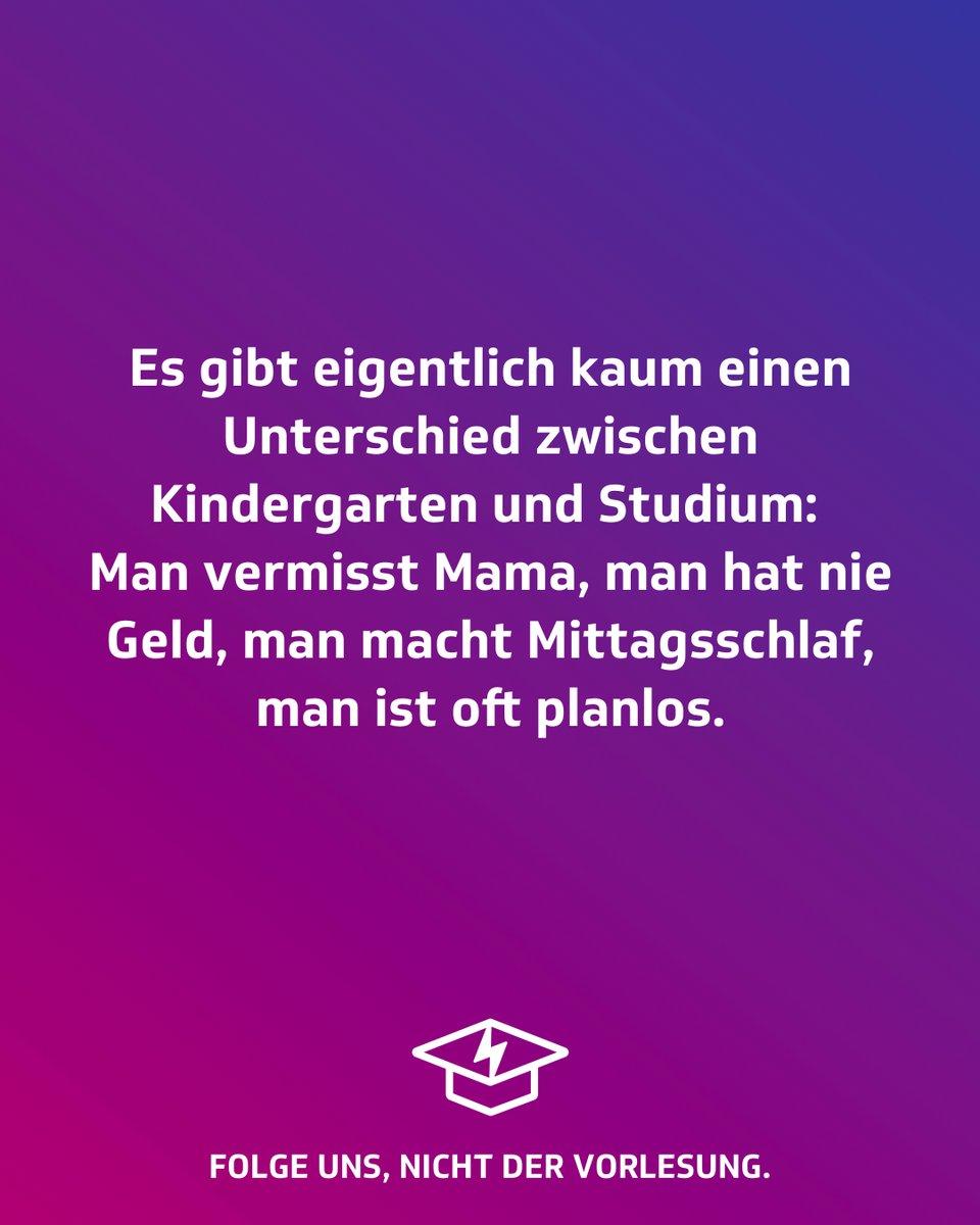 Wenn ich so drüber nachdenke... #studentenstoff #studenten #dualerstudent #student #jodel #studieren #klausur #klausuren #vorlesung #hörsaal #studentenleben #familie #familienzeit #familienleben #oma #opa #omaundopa #eltern #großeltern #großfamilie #mamaistdiebestepic.twitter.com/YTskyE0n1x