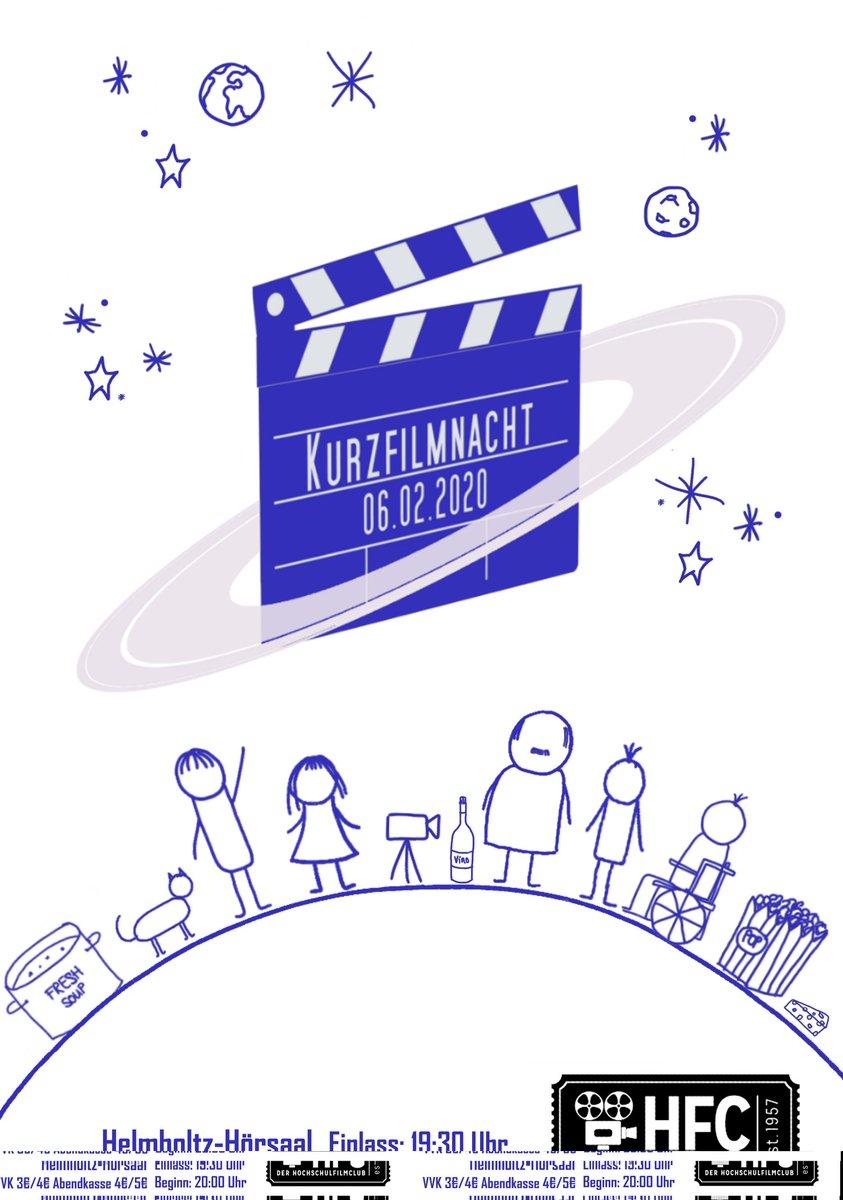 Ab nächsten Montag beginnt der #VVK für unsere #Kurzfilmnacht! Kommt in der #Mensa vorbei und sichert euch eine Karte.  #shortfilms #semesterabschluss #KINOpic.twitter.com/R1DdV3vDdA