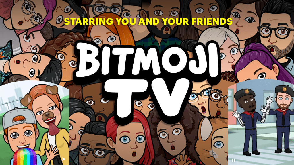 Snapchat launches Bitmoji TV: zany 4-min cartoons of your avatar by @joshconstine