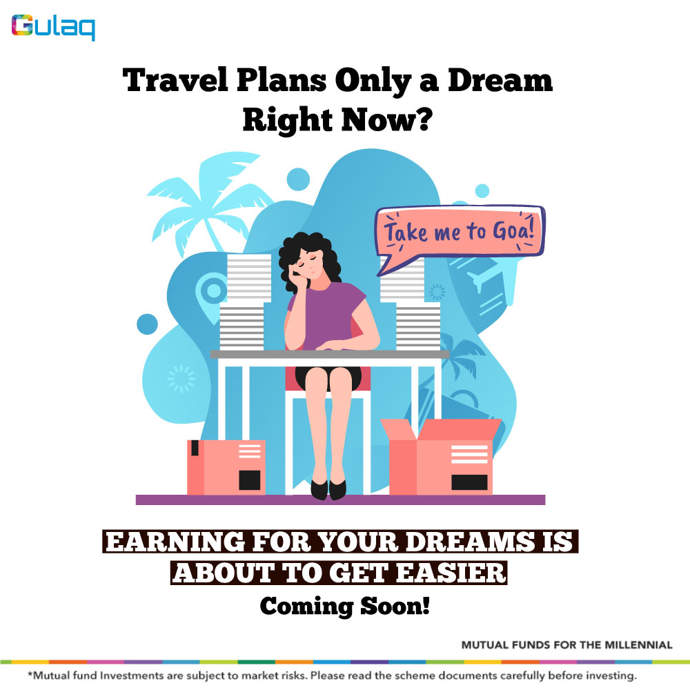 "You can SOON be ""Living Your Dreams"" than Living in Dreams. Stay tuned to know more! . . . #comingsoon #staytuned #Investment #financialplanning #InvestorAwareness #MutualFundsForMillennials #MutualFunds #GulaqFintech #InvestingTips #InvestInYourself #OnlineInvestment #WhyGulaqpic.twitter.com/yZRK8z6eNN"