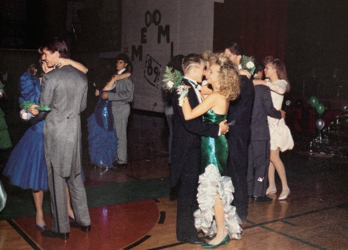 This week's Throwback Thursday takes a look at the Fox High School Homecoming Dance form 1990. #FoxC6Strong