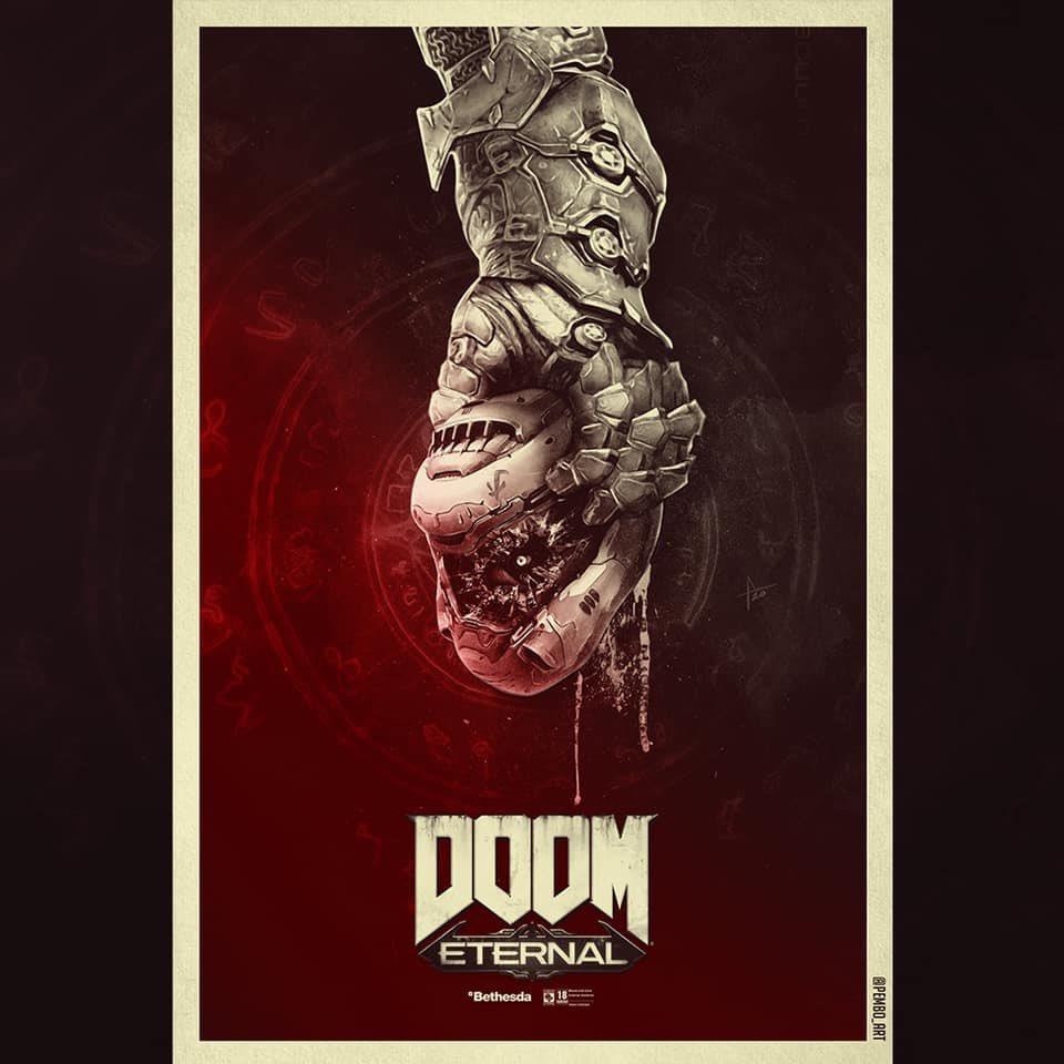 Doom On Twitter Marauder Fan Art By Pembo Art