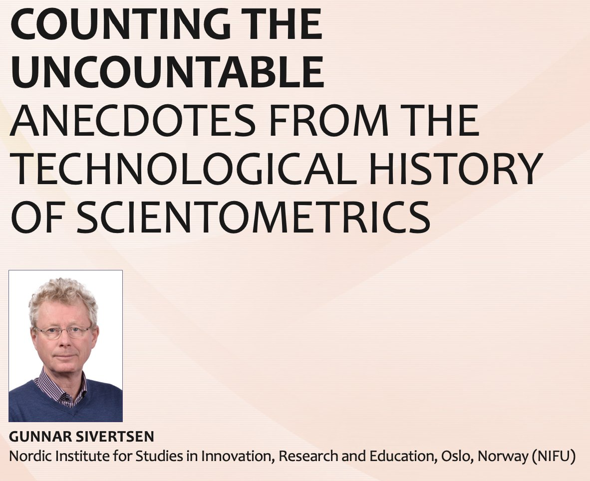 "Sophie Dorothea Fosså (1941-) 🇳🇴 whose amazing ""research lifestyle"" and schedule is unveiled in @GunnarSivertsen's paper in the latest ISSI Newsletter (pp. 52-63) https://t.co/Hil0QxDcu4 @issi_pres #scientometrics #366womeninSTEM https://t.co/UNnPK2MlUR"