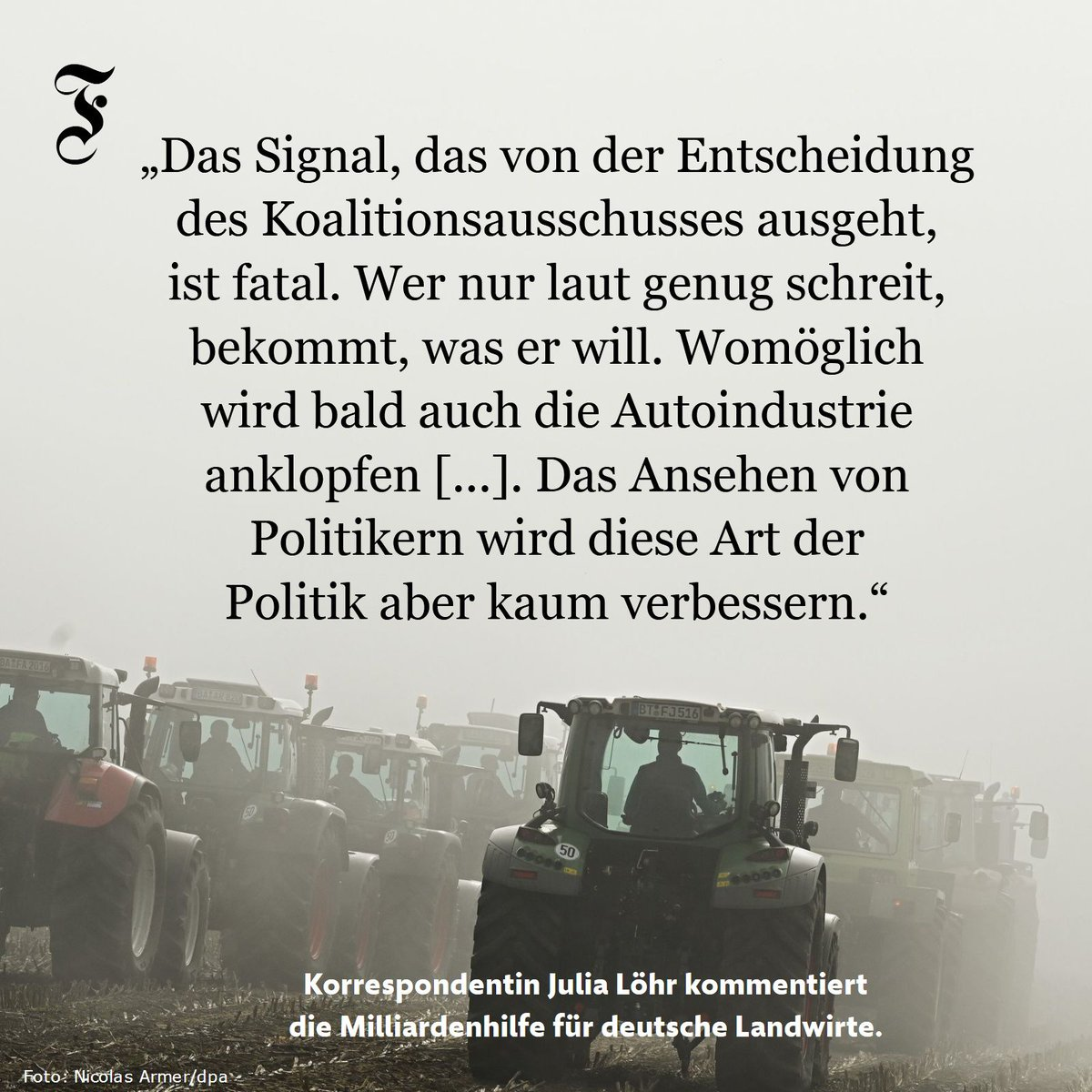#Bauernmilliarde