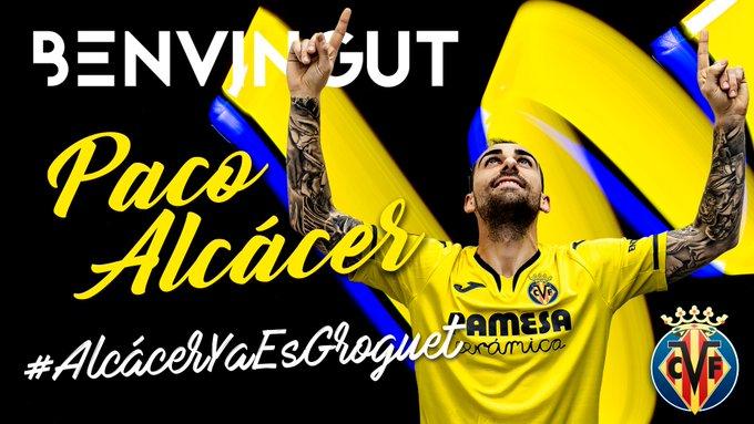 EPi9I5vWAAAXIJx?format=jpg&name=small Paco Alcácer, nuevo jugador del Villarreal - Comunio-Biwenger