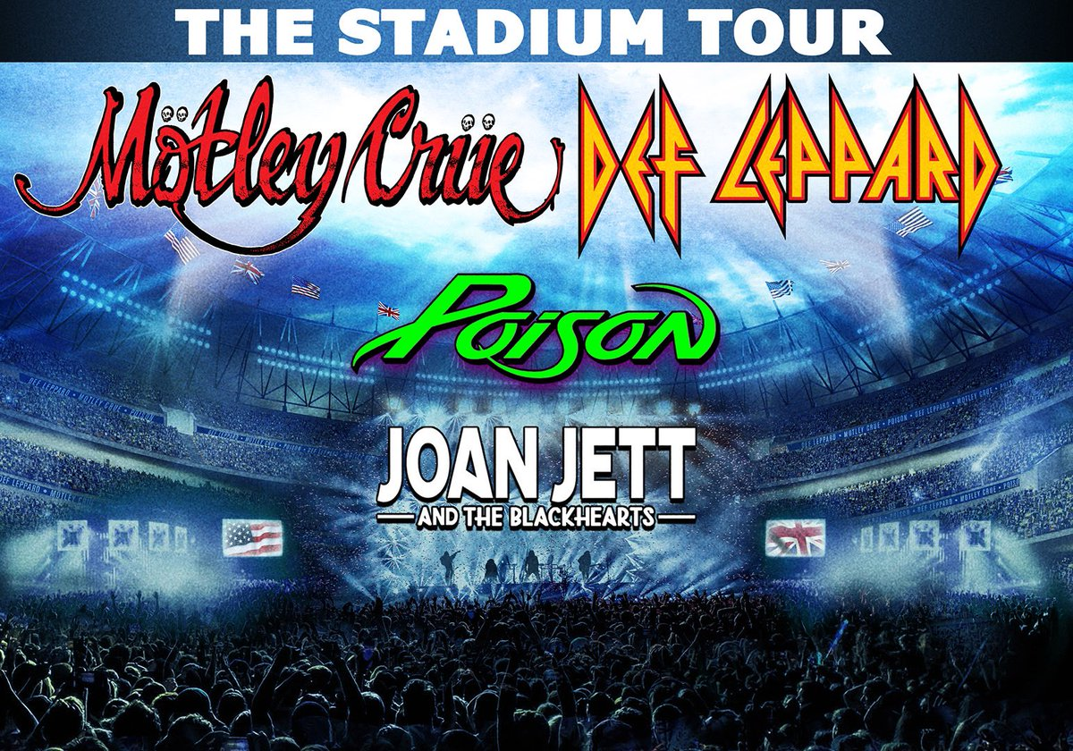 Jacksonville get ready - we're coming your way on June 18. See PoisonOfficial.com for details.