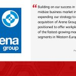 Image for the Tweet beginning: We welcome @ArenaGroup to Xerox.