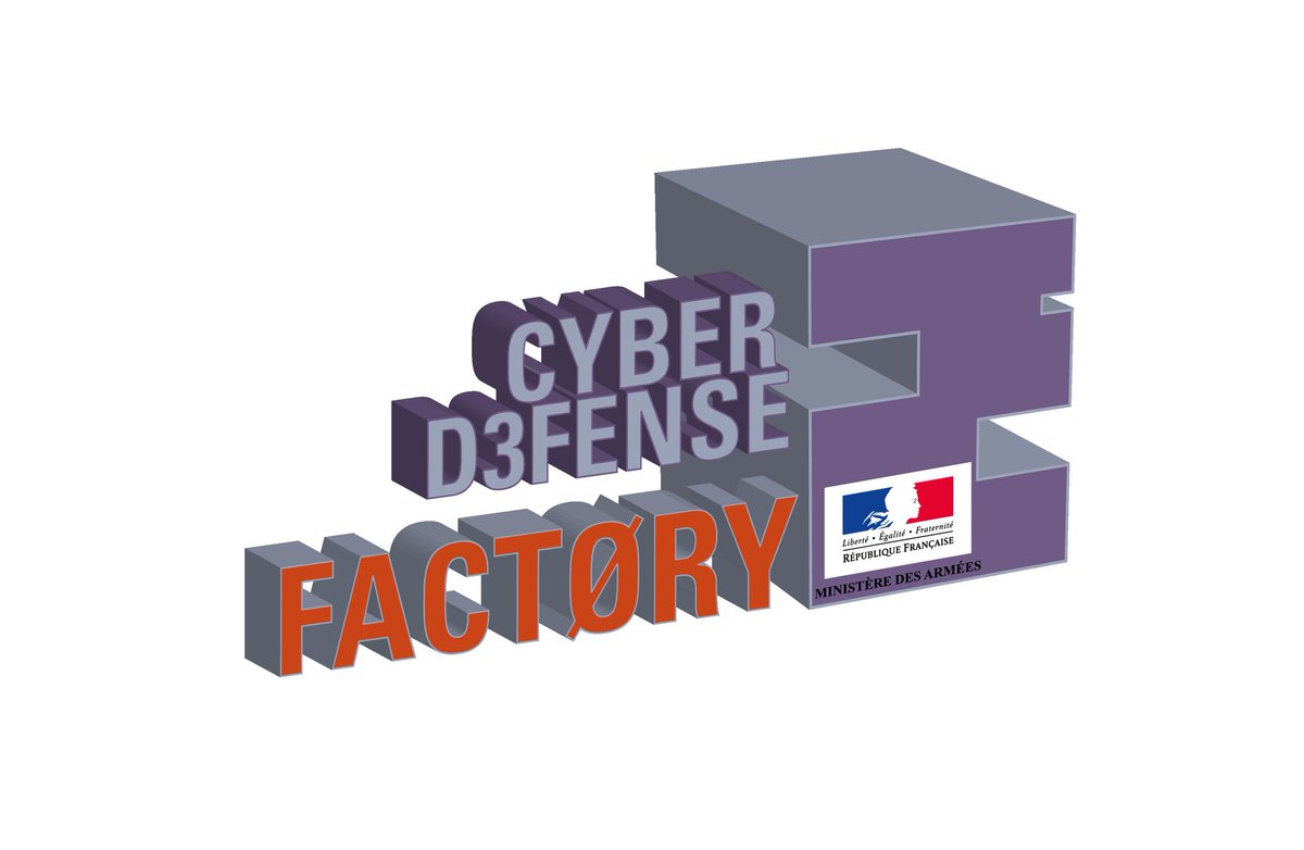 #Cybersécurité Vousavez un projet en cyber sécurité qui peut intéresser la #défense @Armees_gouv et besoin d'accéder à des données pour mettre au point ou tester votre solution?L'appel à projets de la Cyber défense factory est ouvert ici ➡️https://t.co/9jbeP8YHGZ https://t.co/2RTWqCGR32