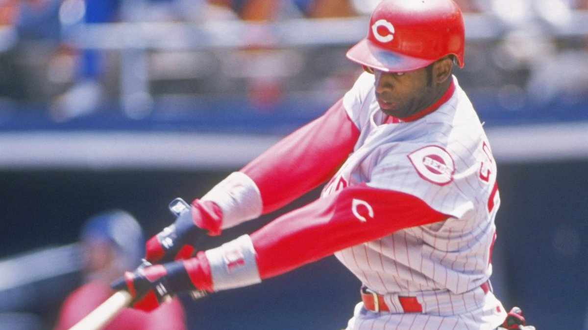 January 30, 1997: The Reds sign Deion Sanders to a free agent contract for the second time. Primetime would smack a career-high 127 hits and swipe a career-high 56 bases in 1997. #RedsVault