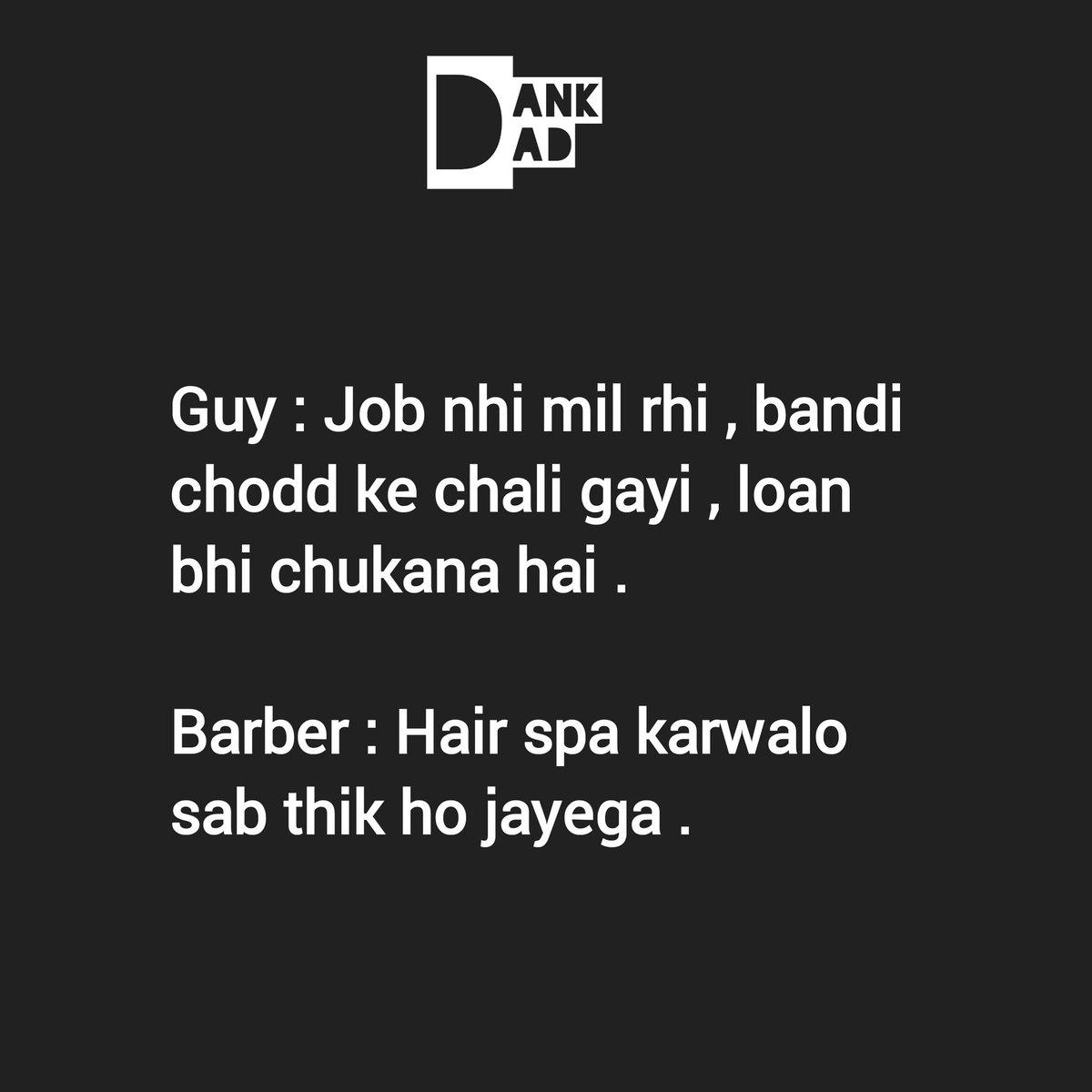 Follow @_dank_dad_ for more ....#fun #jokeoftheday #laugh  #dankjokes #nonvegjokes #follow #funny #jokes #sarcasm #FF #likes #comedyindia #backchodi #sacredmemes #bollywoodpic.twitter.com/7LVONKfKGG