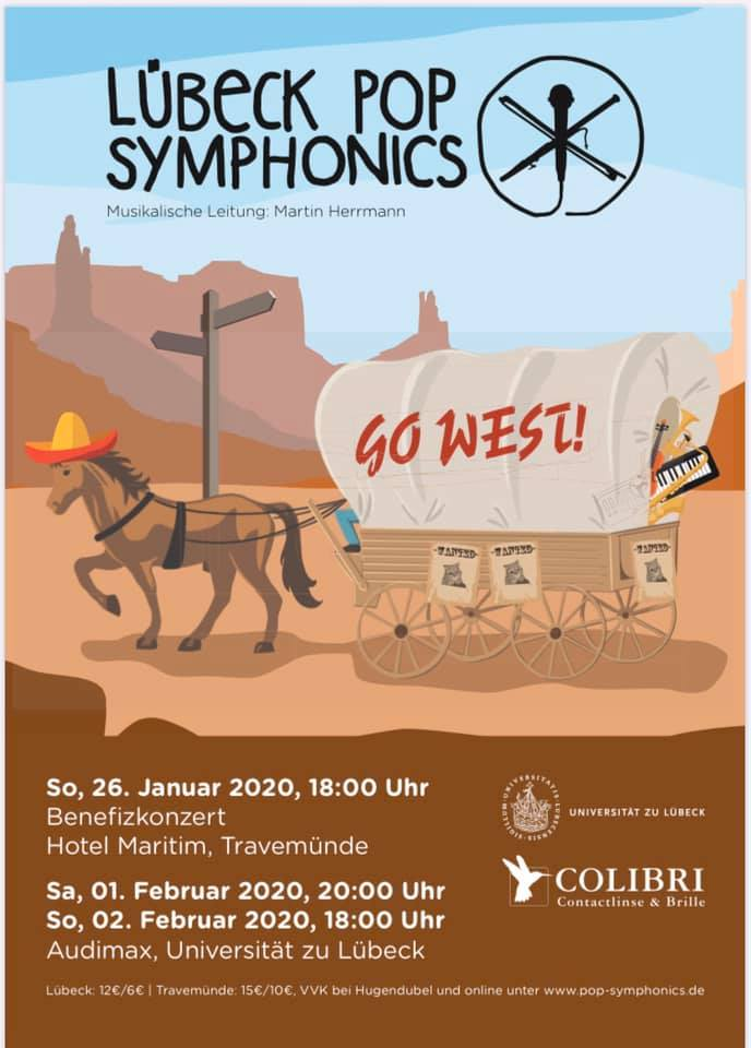 Begeisterung beim Benefizkonzert der Lübeck Pop Symphonics: Go West !  Alljährlich gibt das Uni-Orchester Lübeck Pop Symphonics jeweils zum Ende des Wintersemesters großartige Konzerte. Weiterlesen unter https://bit.ly/3aTUett  #Benefizkonzert #UniOrchester #Maritim #Travemündepic.twitter.com/LmHmREpjDH