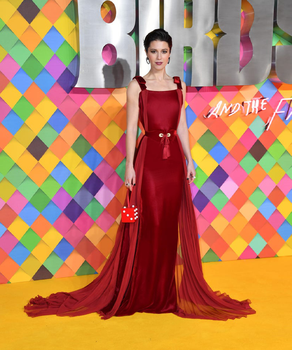 """#MaryElizabethWinstead turns heads in ZUHAIR MURAD Couture Fall Winter 2019-20 at the World Premiere of """"Birds Of Prey (And the Fantabulous Emancipation of One Harley Quinn) """" #ZMrealm #MiragesEtOasis https://t.co/MLBSgPcwEn"""